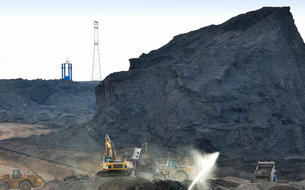 Stockpile capping, erosion control and dust suppression, for coal pile capping and mining industry run off control