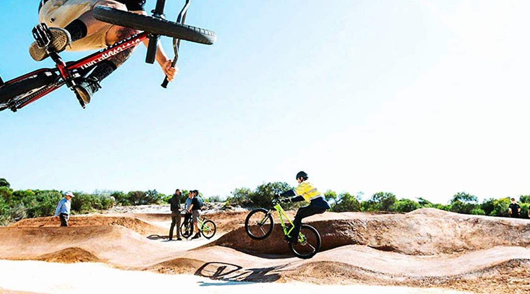 Three Chillies Design New Pump Track at Bayswater Skate Park in Perth WA