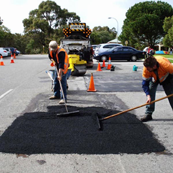 pot holes repaired economically