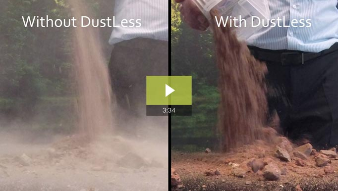 dustless video showing dust suppression and control
