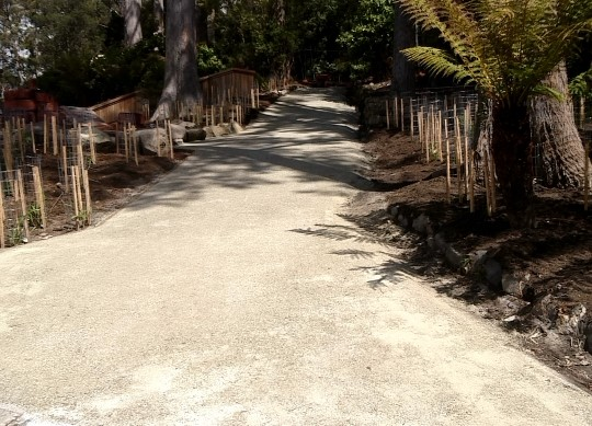 DirtGlue Industrial Pathways in the Fern Tree Park Development – Hobart City Council, Tasmania.